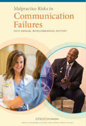 Image of report cover, Malpractice Risks in Communication Failures